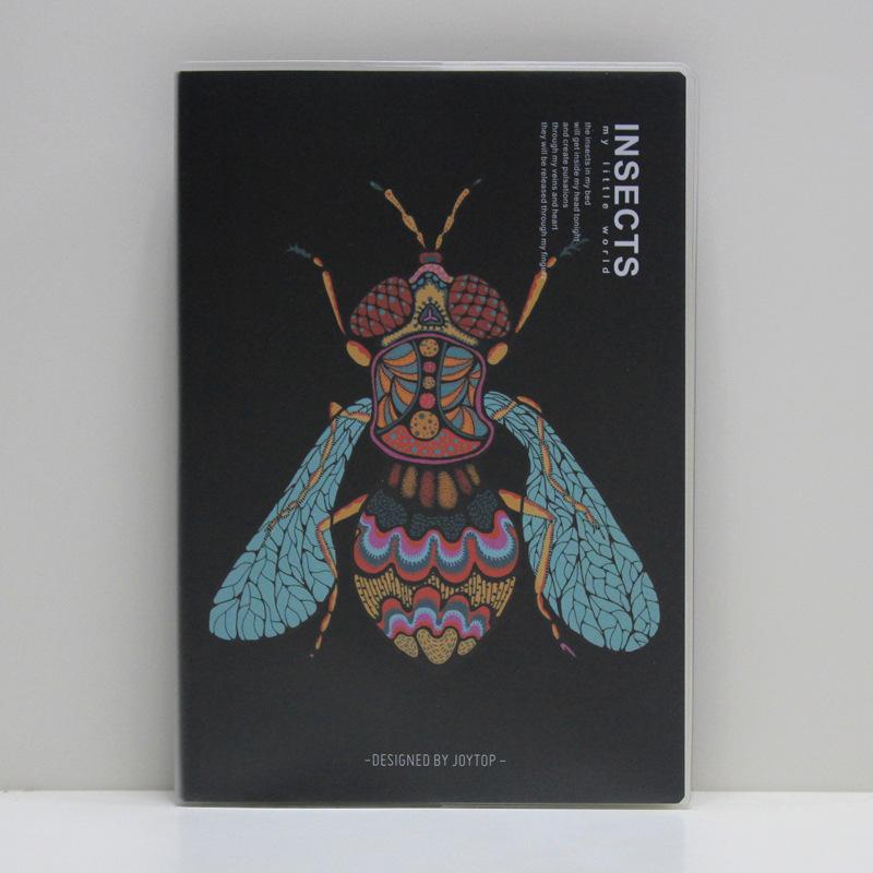 唐尚 昆虫胶套本B5 笔记本书写本