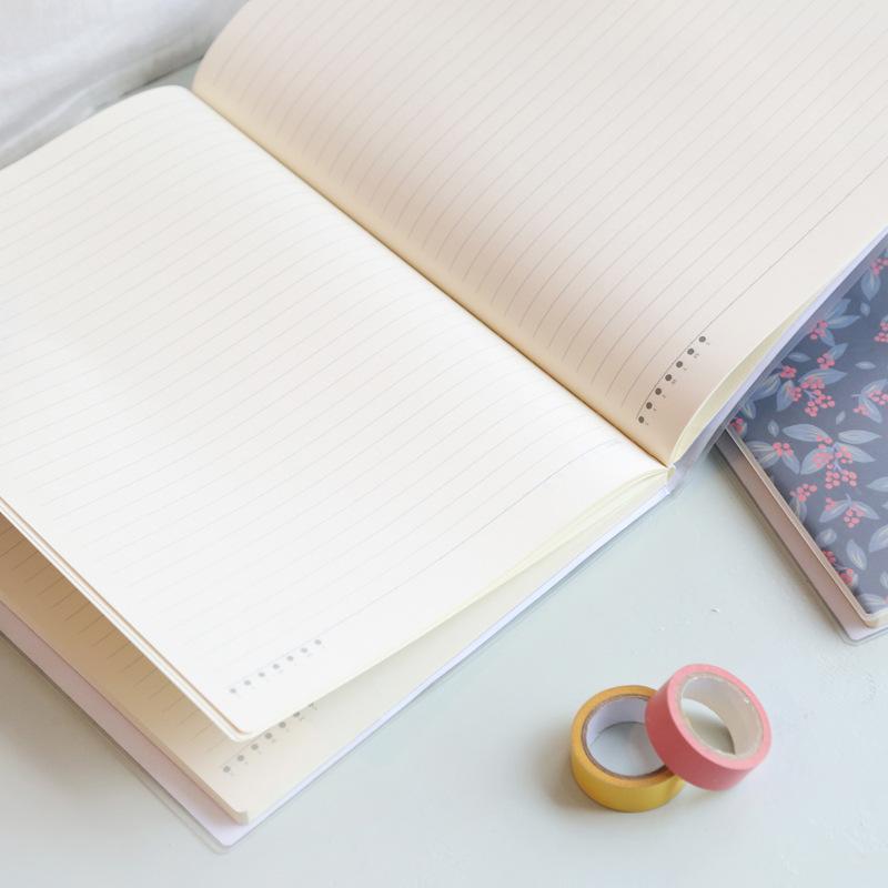 唐尚 我的一天胶套本A4 笔记本 记事本 创意本子