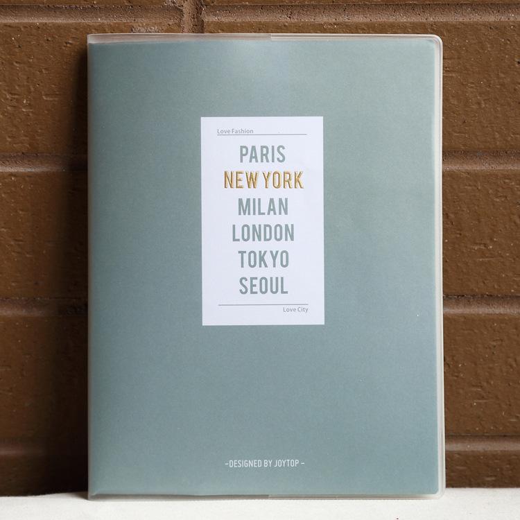 唐尚 纯色4季胶套本B5  本子 创意记事本 笔记本