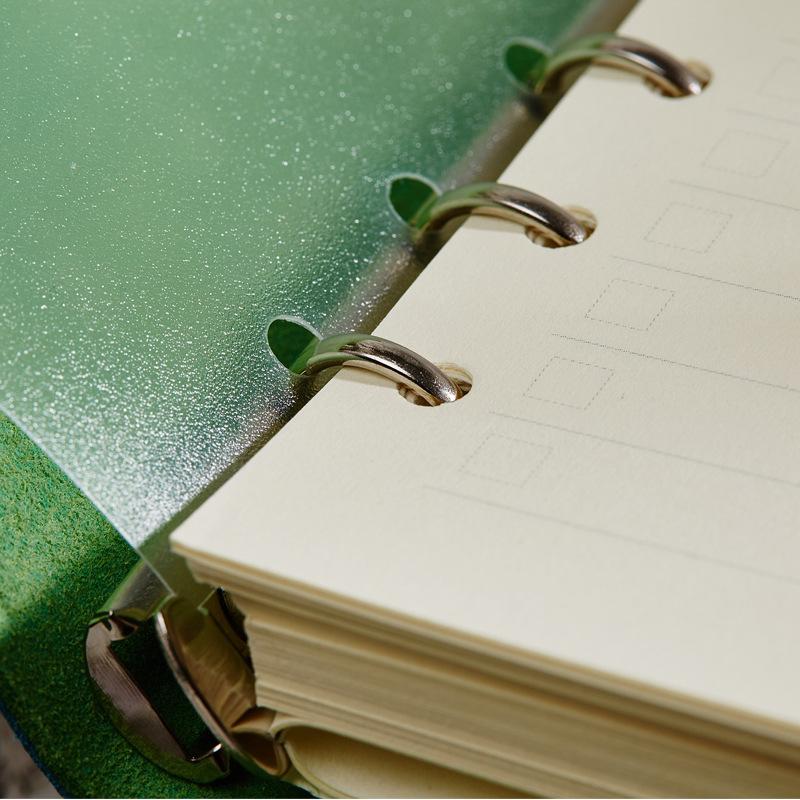 Traveler's旅行日记本创意潮流真皮记事本厚文具笔记本