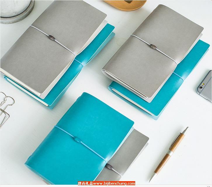 简易创意绑带笔记本旅行本